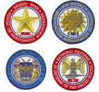 Award Medal Patches