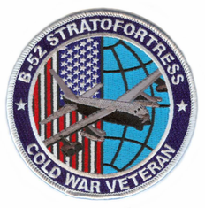 "B-52 Cold War Veteran 4"" Patch"