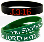 Bible Verse Wrist Bands