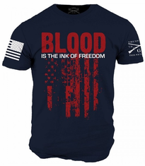 Blood is the Ink of Freedom T-Shirt