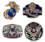 Branch of Service Belt Buckles