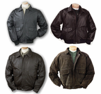 Burk's Bay Leather Bomber Jackets