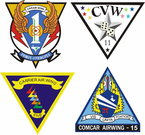 Carrier Wing Vinyl Decals