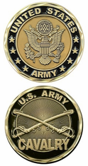 Cavalry Challenge Coin