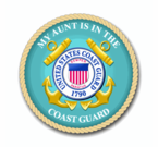 Coast Guard Pride Vinyl Transfer Decals and Bumper Stickers