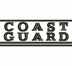 Coast Guard Script Apparel