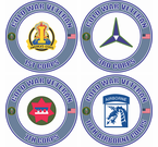 Cold War Veteran U.S. Army Corps Decals Stickers