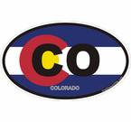 Colorado Oval decal stickers