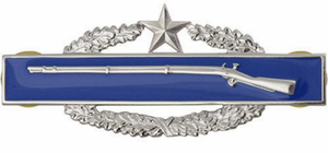 Combat Infantry Badge 2nd Award Badge