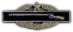 Combat Infantry Badge CIB 2nd Award Lapel Pin