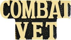 Combat Veteran Lapel Pin