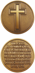 Cross Challenge Coin