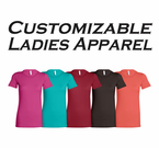 Custom Embroidered Lady Veteran Apparel
