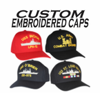 CUSTOM MADE MILITARY CAPS