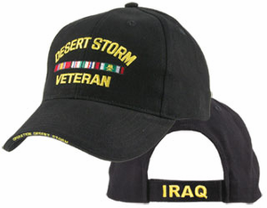 Desert Storm Veteran Direct Embroidered Ball Cap