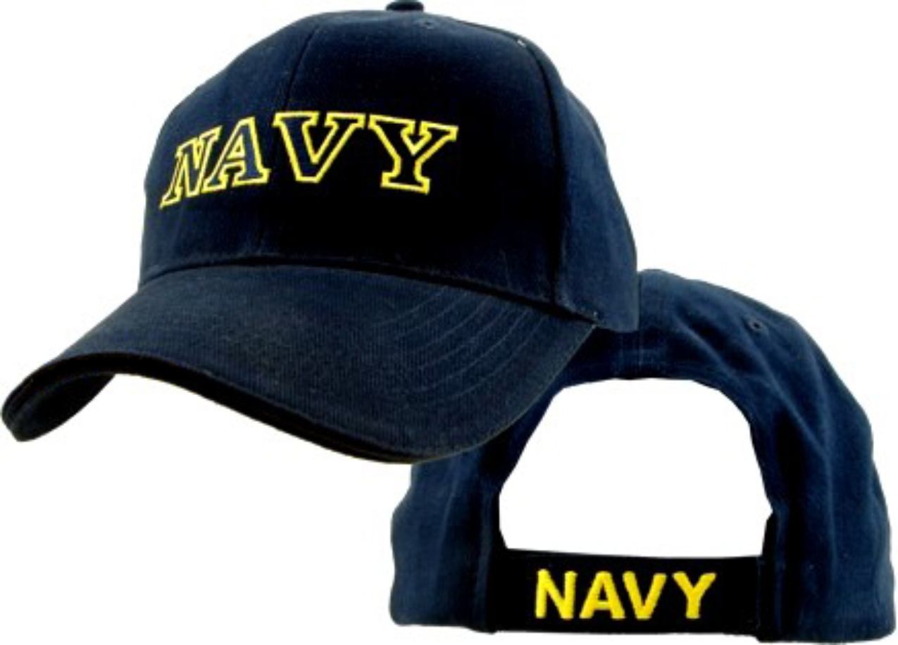 Direct Embroidered Navy Ball Cap
