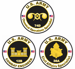 Engineer, Civil Affairs, & Chemical Corps