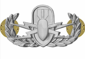 Explosive Ordnance Disposal Badge