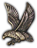 Falcon Left Lapel Pin