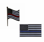 First Responder Flags, Pins, and Patches