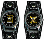 Fontier Leather Strap Watches
