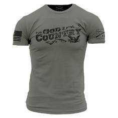 For God and Country Grunt Style T-Shirt