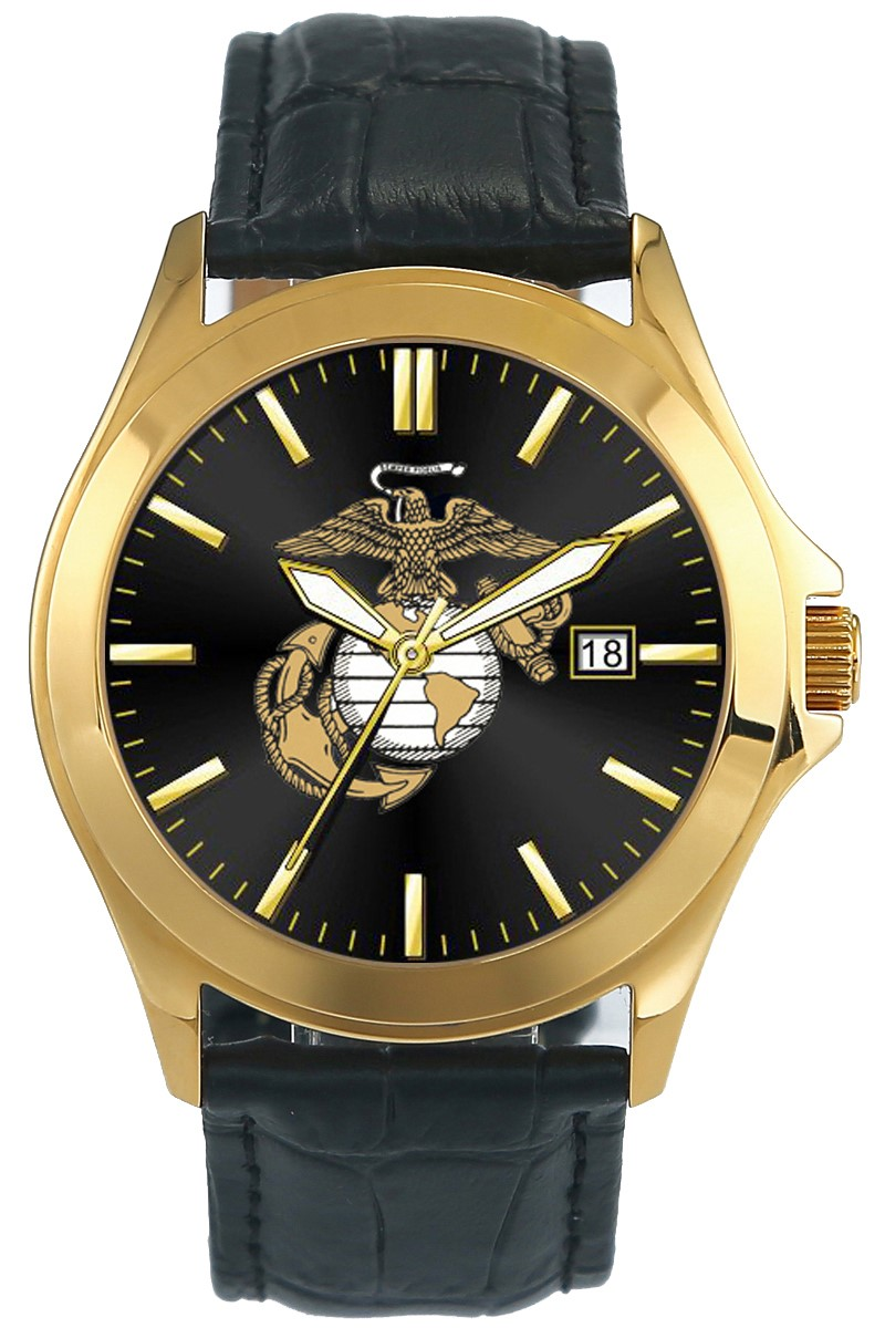 Frontier men 39 s marine corps watch for Marine watches