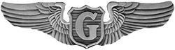 Glider Pilot Wings Pin