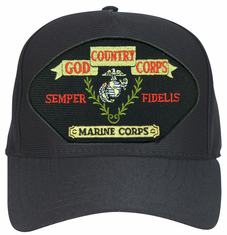 'God, Country, Corps ... Semper Fidelis' Marine Corps Ball Cap