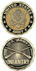 Infantry Challenge Coin