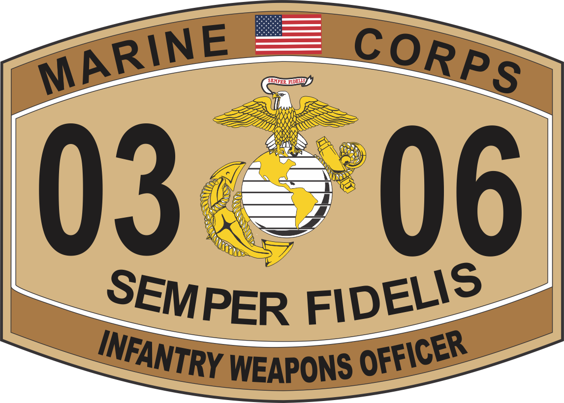 infantry weapons officer marine corps mos 0306 u s m c