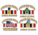 Iraq Veteran Decals