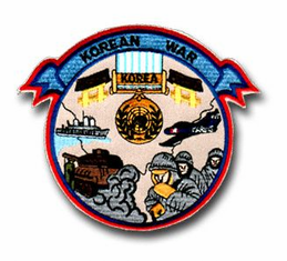 "KOREAN WAR 4½"" PATCH"