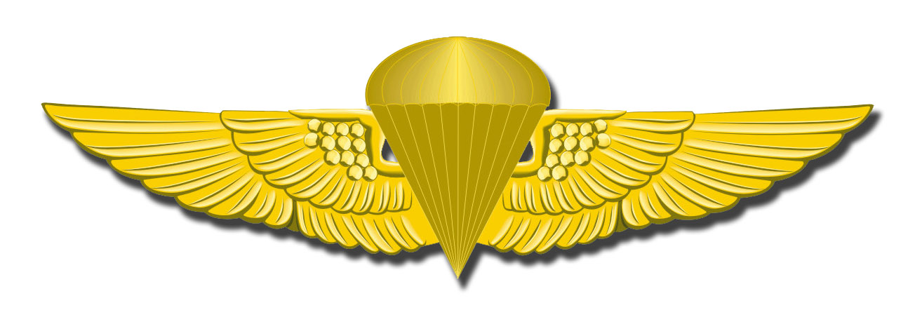 MARINE CORPS JUMP WINGS MILITARY DECAL