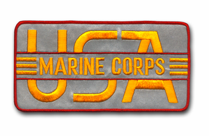 MARINE CORPS REFLECTIVE JACKET PATCH