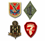 Marine Corps Regiment Patches