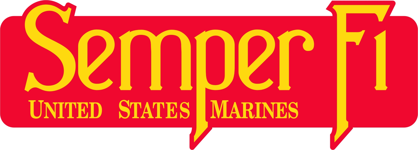 Marine Corps Warrant Officer Rank Clear Decal 2 pc.