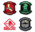 Marine Fighter Attack Squadron ( VMFA ) Patches