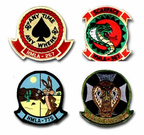 Marine Light Attack Helicopter Squadron ( HLMA ) Patches