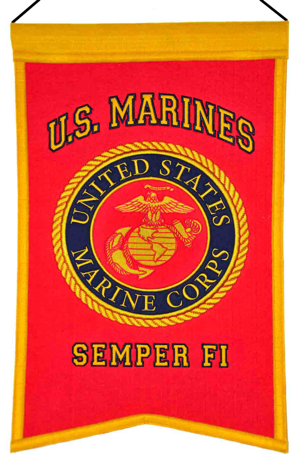What Is The Best Military Branch >> Marines Seal Banner