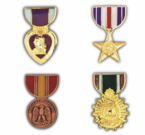Medal Hat Pins