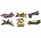Military Aircraft Lapel Pins
