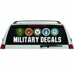 Military Decals and Stickers
