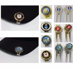Military Divot Repair Tools and Ball Markers