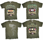 Military ERA Veteran's T Shirts