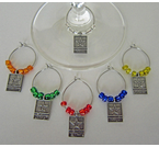 Military Wine Glass Charms