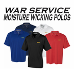 Moisture Wicking Veteran Polo Shirts