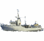 MSF Mine Warfare Ships