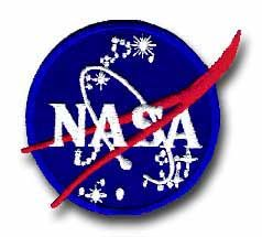 "NASA OFFICIAL ""VECTOR"" EMBLEM 4"" PATCH"