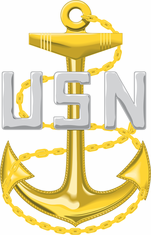 Navy Chief Petty Officer (CPO) Decal